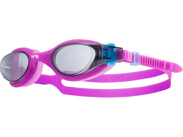 TYR Vesi Goggles Kinder smoke/purple